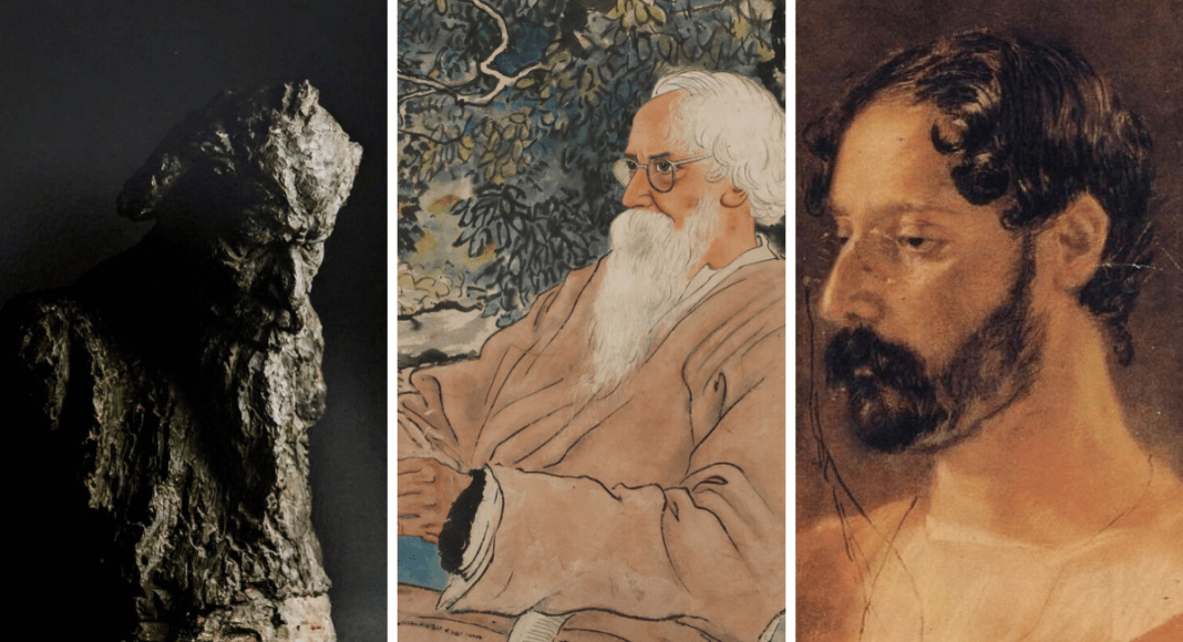 tagore in portraits art