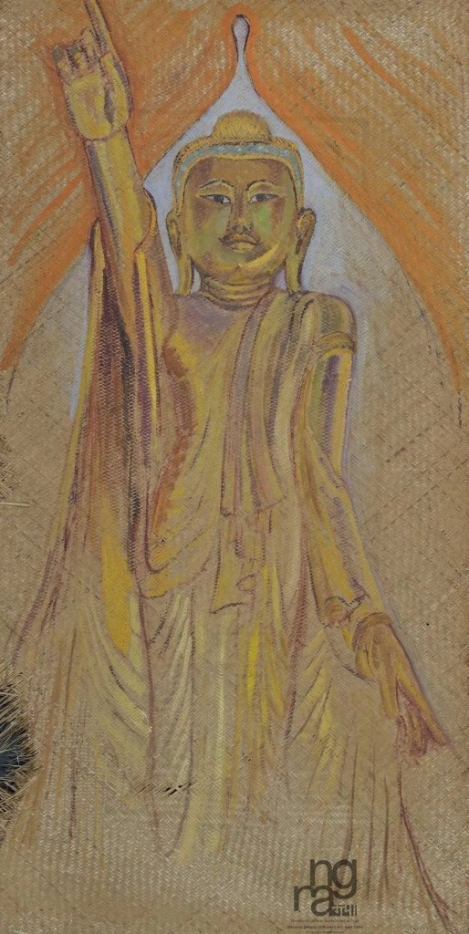 Buddhist painting by Elizabeth Brunner