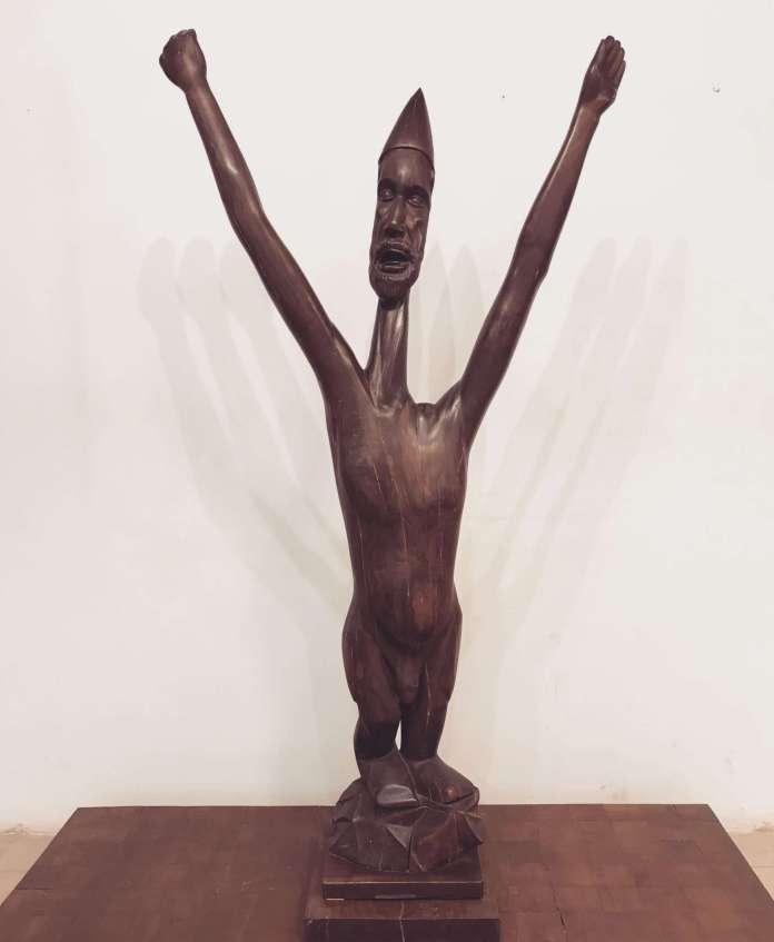 sufi dervish sculpture SL Parasher