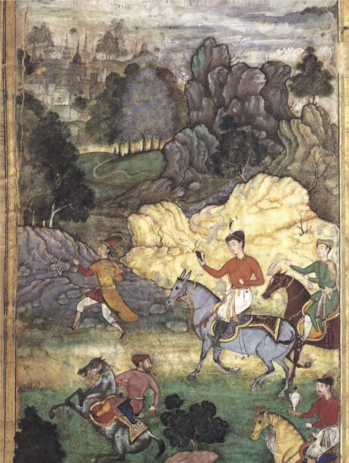 akbar favourite books : Divan of Anvari