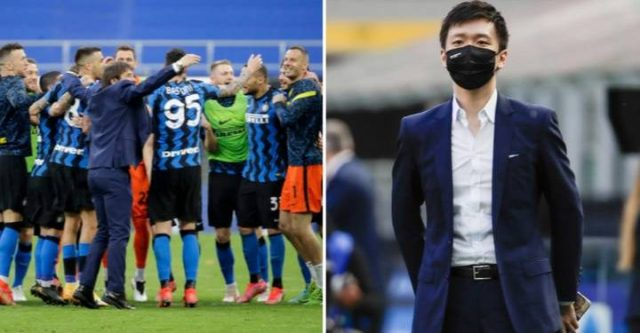 Inter Milan owner ask Serie A winning squad to forfeit two months wages