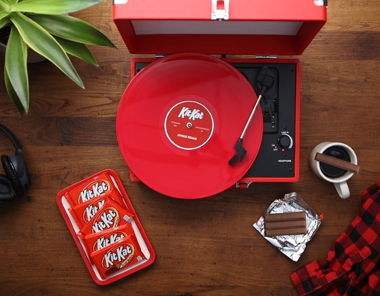 The Hershey Company  Kit Kat Fans Get Their Break with Classic Jingle Remixes