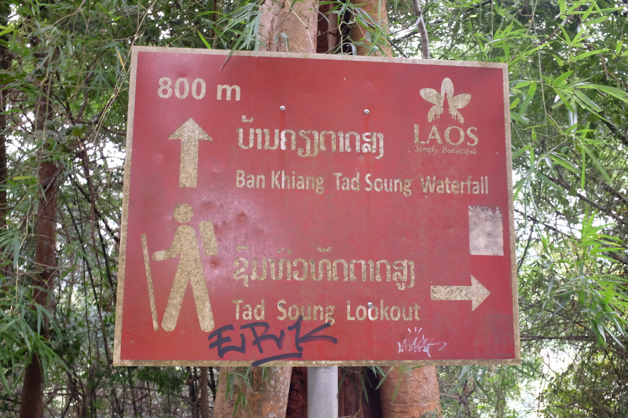 Tad Soung directions (Bolaven Plateau, Laos)