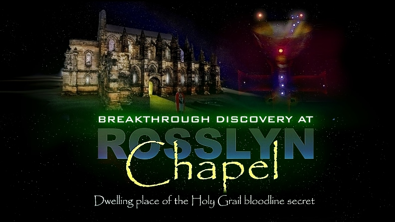 THE HOLY GRAIL IN ROSSLYN CHAPEL SECRET REF - WAYNE HERSCHEL