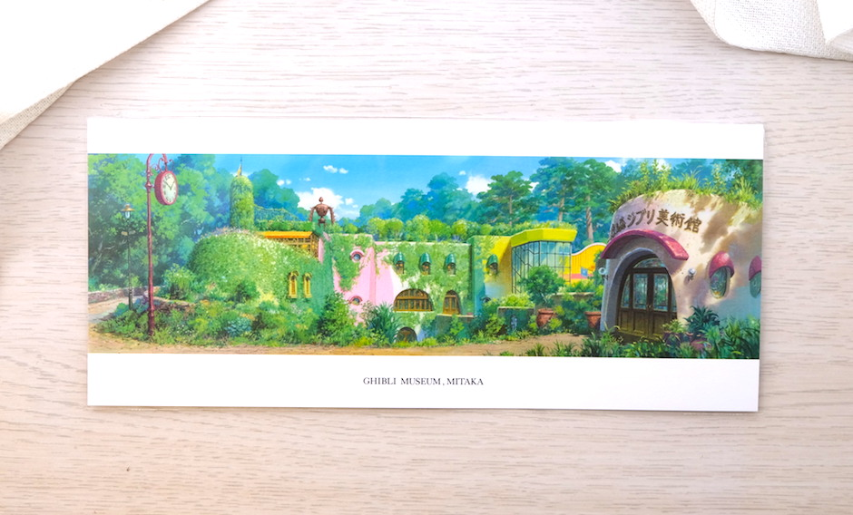 Souvenirs from Studio Ghibli Museum