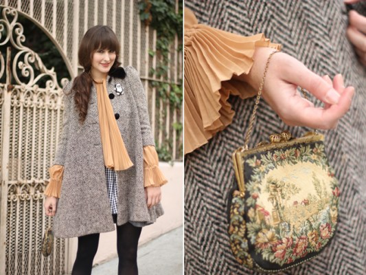 How To Wear Vintage Clothing With Modern Outfits statement piece