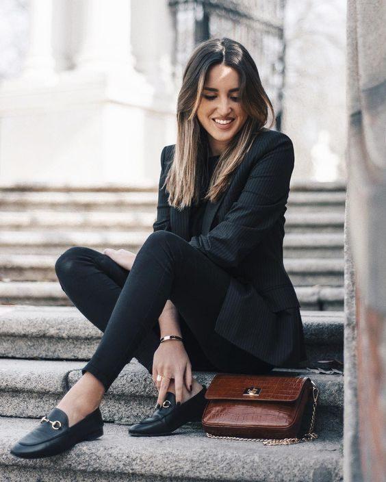 91e67db7a8e How to Wear Women s Loafers  Fashion Ideas - HI FASHION