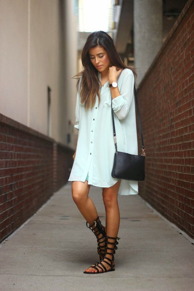 Outfits with flats gladiator sandals