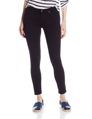 AG Adriano Goldschmied Women's The Legging Ankle Skinny Jean Super Black