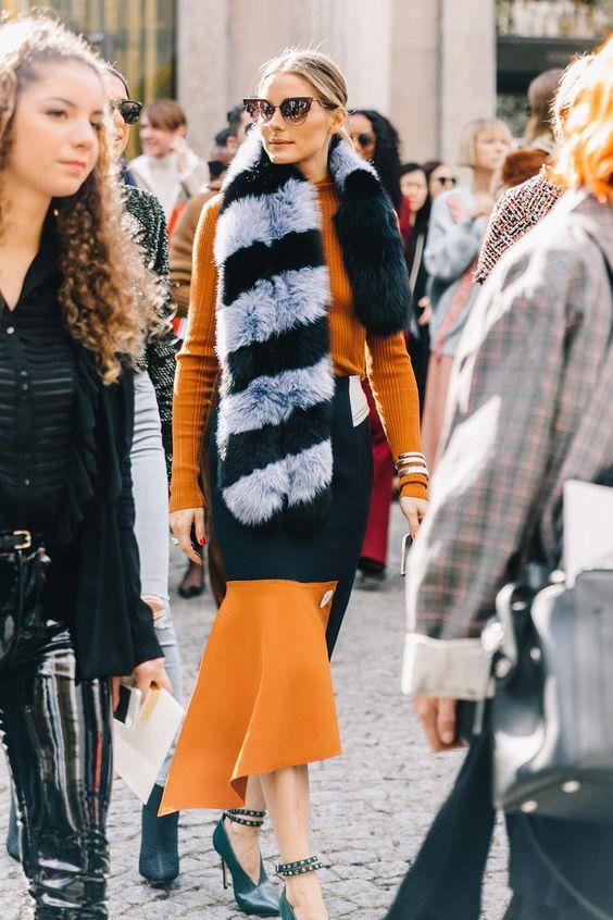 faux fur accessory