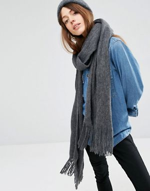 Jacket and blanket scarf