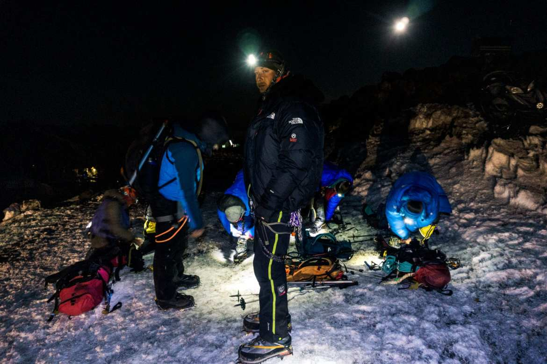Elbrus paklijst toppoging