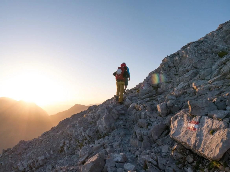 bergbeklimmen hiken