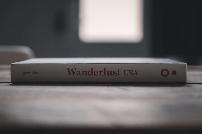 Wanderlust USA Gestalten boek cover rug
