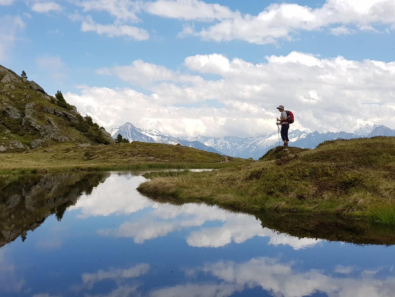 Zuid-Tirol hiker