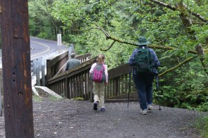 east fork lewis river molten falls hiking with kids