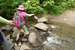 tumwater pipeline trail hiking with children kids in nature