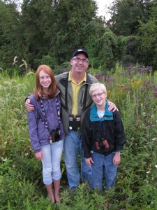 Bill Thompson III, birding with children