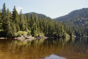 hiking with children, mountain loop highway hikes, swimming lake