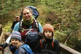 hiking with children, lake 22