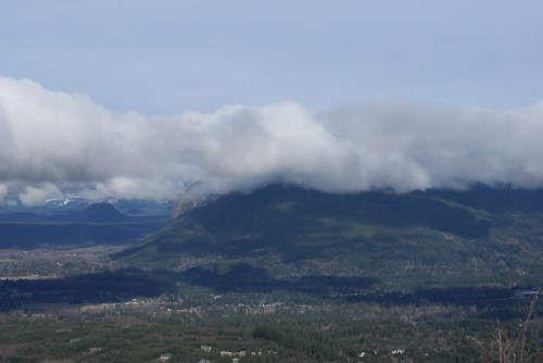 view from the top, rattlesnake ledge