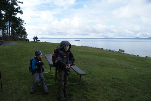 washington park, anacortes, hiking with children