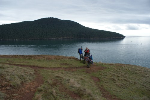 washington park, anacortes, puget sound, hiking with children