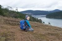 hiking with children, anacortes, washington park