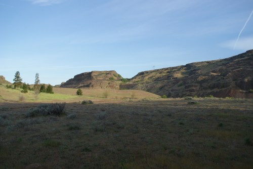 columbia hills state park, camping washington