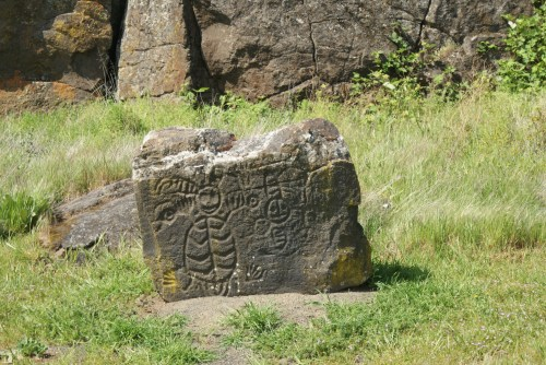 columbia hills state park, rock art, native american,