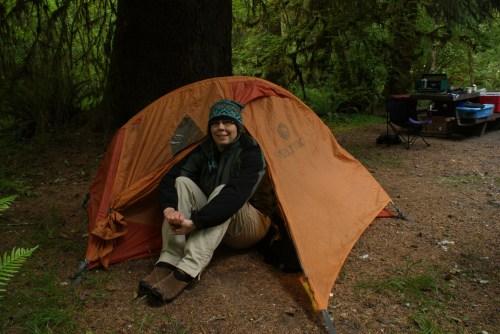 hoh valley camping