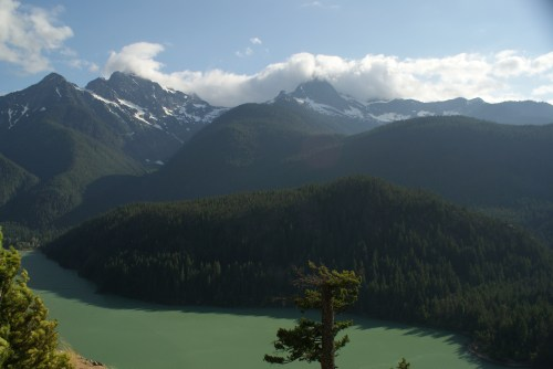 north cascades, mountains