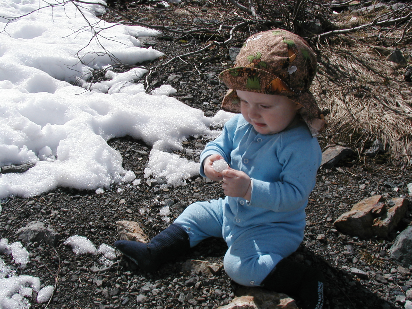 hiking with babies and children, big four ice caves