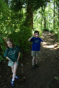 saint edward state park, hiking with kids