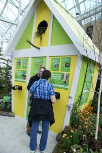 2015 northwest flower and garden show, cornell lab of ornithology