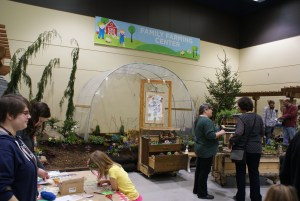 2015 northwest flower and garden show, farmer frog