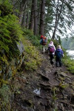 acfl, anacortes community forest land, hiking with children