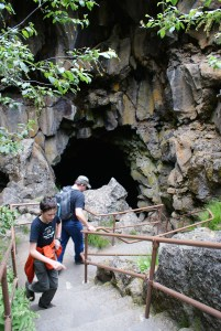 newberry volcanic monument, lava river cave, lava tube