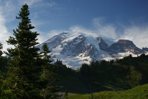 mt rainier, myrtle falls trail