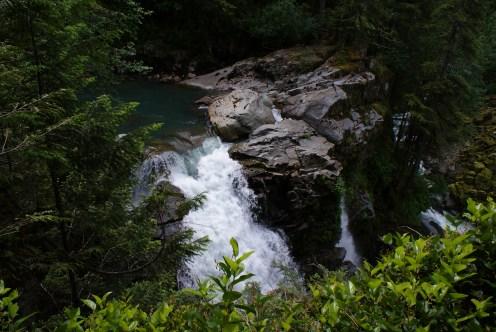 Top of Nooksack Falls