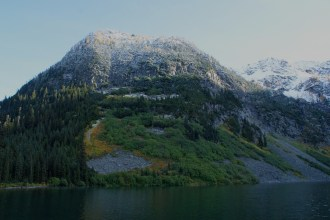 rainy lake trail, north cascades, hikes for kids