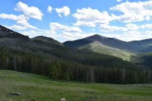 yellowstone, driving, road trip