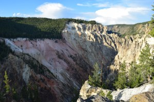 yellowstone, river, canyon, red rock, artist point