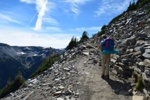 burroughs mountain trail, sunrise area trails, best hikes for kids, fall hiking, subalpine
