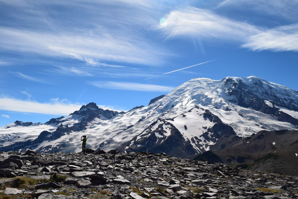 burroughs mountain, second burroughs, mt rainier, best hikes for kids, kids in nature