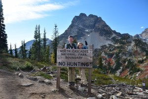 north cascades, best hikes for kids, fall hiking, maple pass, heather maple pass trail, larches, fall colors