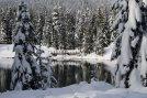 gold creek, snowshoe, winter hiking,