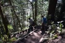 rock trail, bellingham, kids hiking, geology, larrabee state park