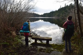 heart lake, anacortes, hiking with kids, winter hikes, acfl
