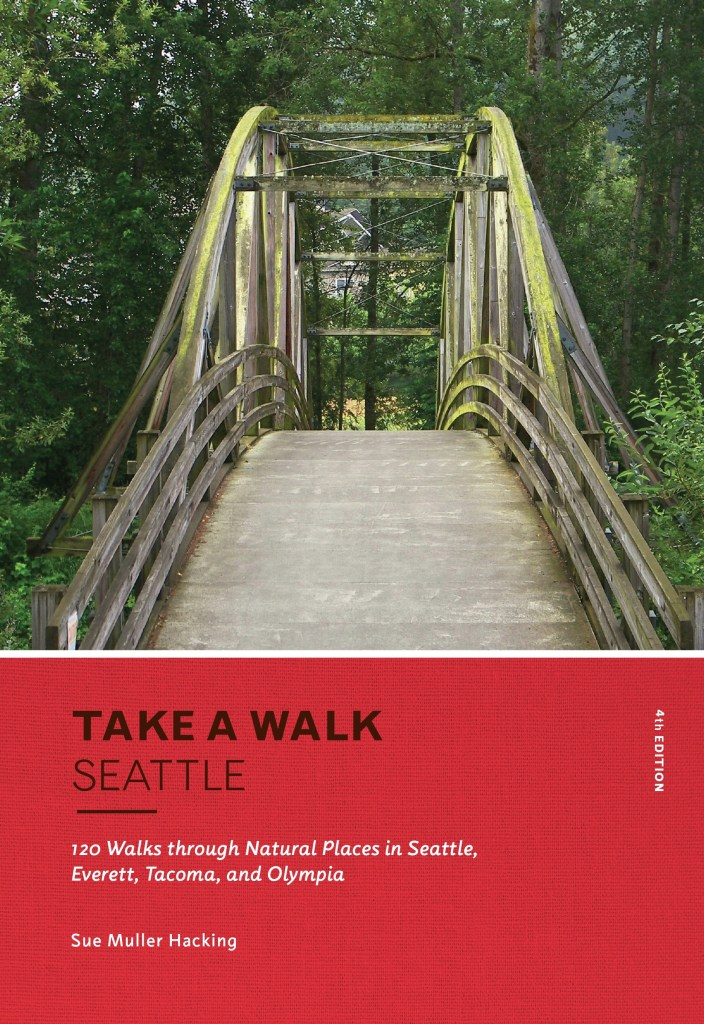 book review, seattle urban hikes, sue muller hacking